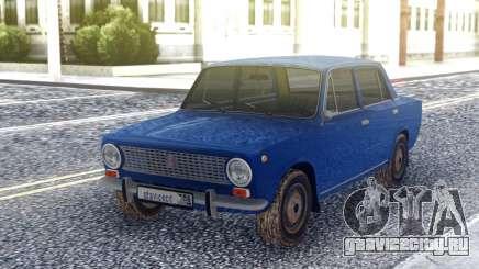 ВАЗ 2101 Синий Седан для GTA San Andreas