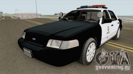 Ford Crown Victoria Police Interceptor LAPD 2011 для GTA San Andreas
