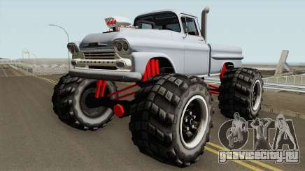 Chevrolet Apache Monster Truck 1958 V1 для GTA San Andreas