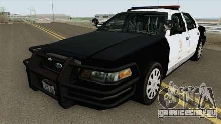 Ford Crown Victoria Police Interceptor MQ для GTA San Andreas