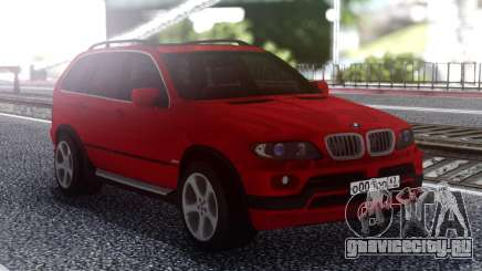 BMW X5 Red для GTA San Andreas