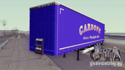 Carbone Trailer для GTA San Andreas