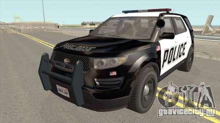 Vapid Police Cruiser Utility GTA V для GTA San Andreas
