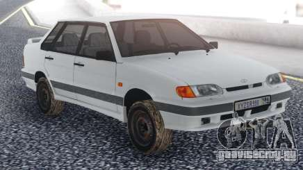 ВАЗ 2115 Белый Сток для GTA San Andreas