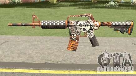 CS:GO M4A1 (Demolition V2 Skin) для GTA San Andreas