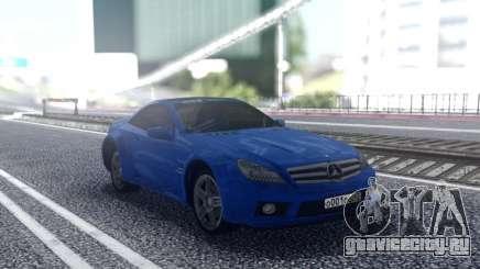 Mercedes-Benz SL65 Blue для GTA San Andreas