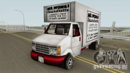 Mr Wongs Laundry Truck (GTA III) для GTA San Andreas