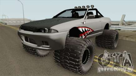 Nissan Skyline R32 Cabrio Off Road Shark для GTA San Andreas