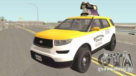 Vapid Scout Taxi GTA V для GTA San Andreas