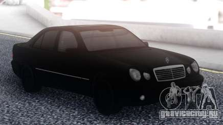 Mercedes-Benz E55 Black Sedan для GTA San Andreas