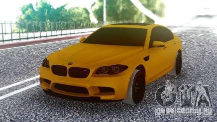 BMW M5 F10 Orange для GTA San Andreas