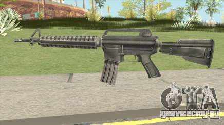 M4 Remastered для GTA San Andreas