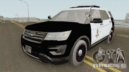Ford Explorer Police Interceptor LAPD 2017 для GTA San Andreas