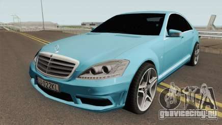 Mercedes-Benz W221 With Polish License Plates для GTA San Andreas