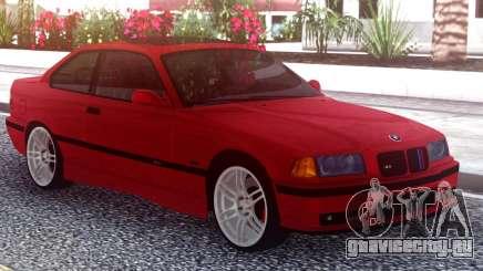 BMW M3 E36 Stock Red для GTA San Andreas