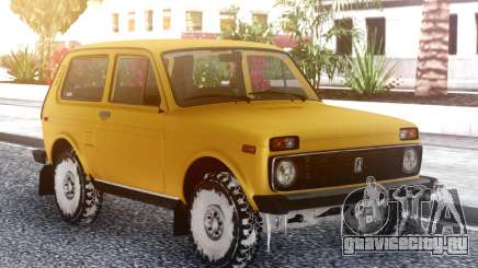 ВАЗ 2121 Снежный для GTA San Andreas