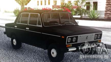 ВАЗ 2106 СТОК Черный для GTA San Andreas