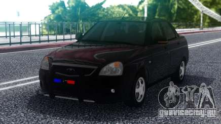 Lada Priora Police Lights для GTA San Andreas