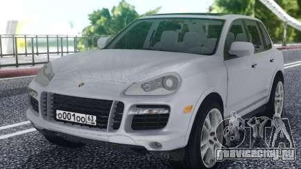 Porsche Cayenne White для GTA San Andreas