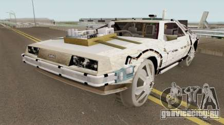 DeLorean DMC-12 Time Machine Cave для GTA San Andreas