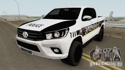 Toyota Hilux Georgia Police HQ для GTA San Andreas