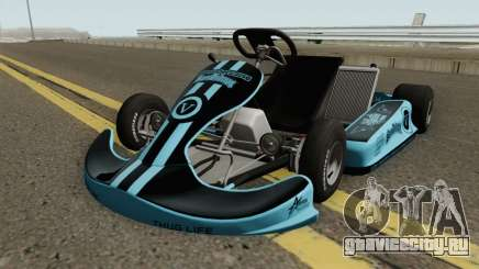 Shifter Kart 125CC HQ для GTA San Andreas