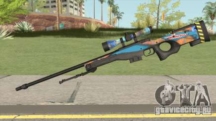 Sniper Rifle (Monster Skin) для GTA San Andreas