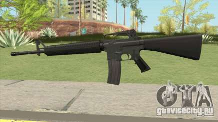M16A2 Default Design (Ext Mag) для GTA San Andreas