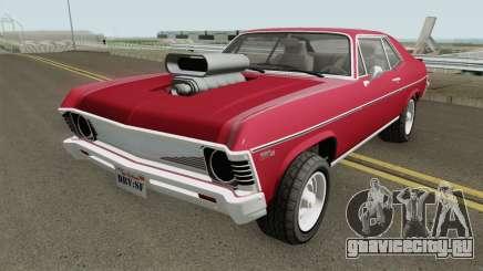 Declasse Vamos GTA V (Custom Bonnet) IVF для GTA San Andreas