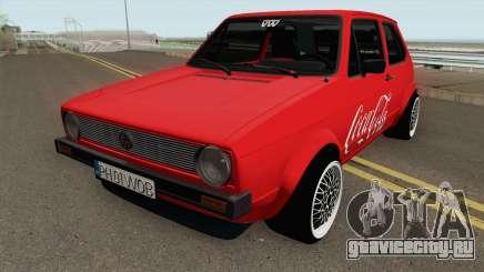 Volkswagen Golf C - Coca Cola Edition 1983 для GTA San Andreas