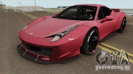Ferrari 458 Liberty Walk HQ для GTA San Andreas