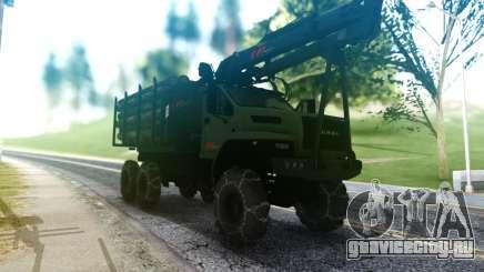 Ural Next Лесовоз для GTA San Andreas