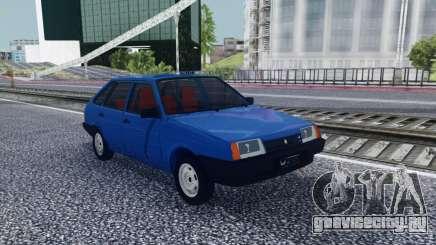 ВАЗ 2109 Синий Хэтчбэк для GTA San Andreas