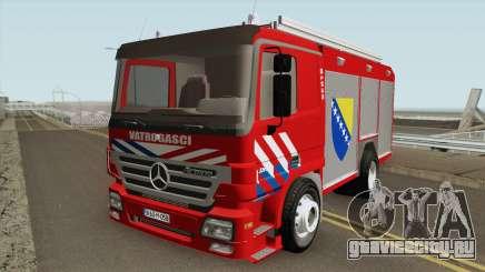 Mercedes Benz Actros Vatrogasci для GTA San Andreas