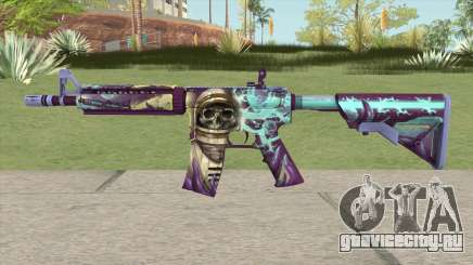 CS-GO M4A4 Desolate Space для GTA San Andreas