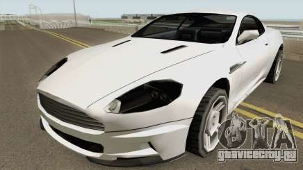 Aston Martin DB9 Low Poly для GTA San Andreas