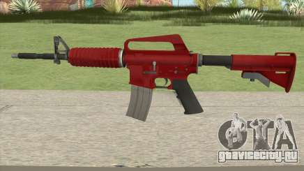 CS:GO M4A1 (Red Skin) для GTA San Andreas
