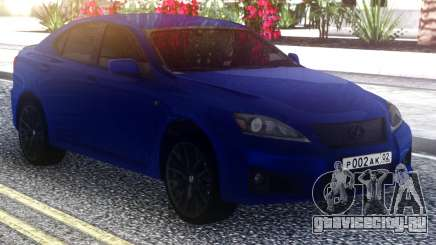 Lexus IS-F Stock для GTA San Andreas