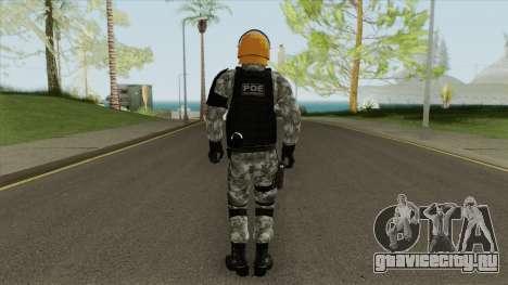 Skin Da Controle de Disturbios для GTA San Andreas