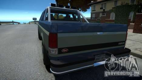 Vapid Sadler Sport Retro Extended Cab для GTA 4