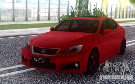Lexus IS-F 2008-2012 для GTA San Andreas