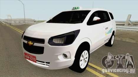 Chevrolet Spin Taxi De Fortaleza для GTA San Andreas