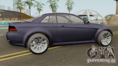 Ubermacht Sentinel XS Custom Stock GTA V для GTA San Andreas