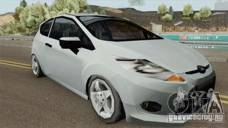 Ford Fiesta 2010 (SA Style) для GTA San Andreas