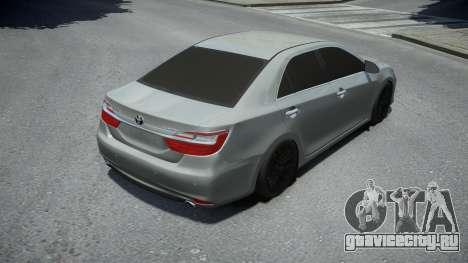 Toyota Camry 2014 для GTA 4