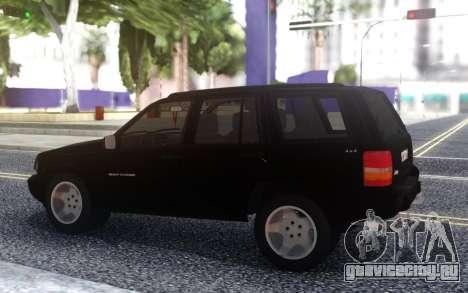 Jeep Grand Cherokee Паши Пэла для GTA San Andreas