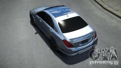 Mersedes-Benz S-Class W222 WALD для GTA 4