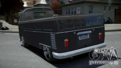 Volkswagen Kombi Pick-Up T2 Bus для GTA 4