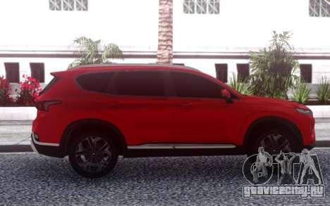 Hyundai Santa Fe FIX RED для GTA San Andreas