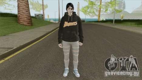 Female Random Skin 1 для GTA San Andreas